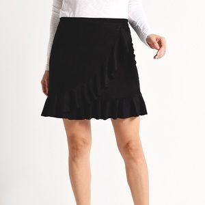 13562d5f28 BB Dakota Skirts | Green Suede Zip Front Skirt | Poshmark
